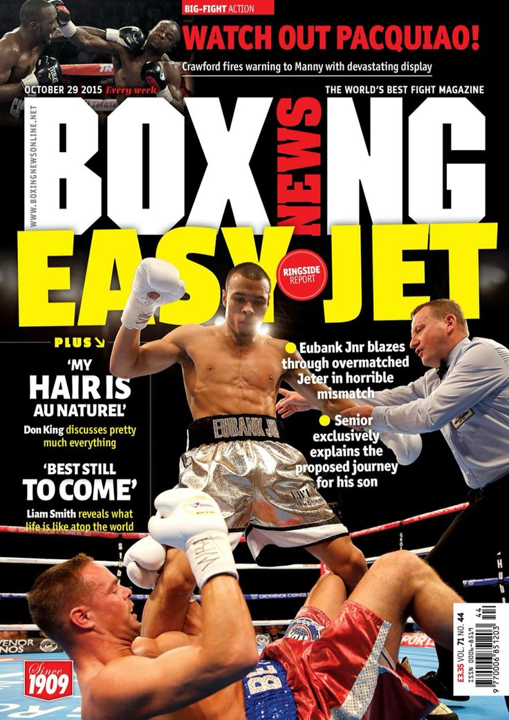 How on earth was Tony Jeter rated so highly by the alphabet boys?  The latest issue of Boxing News is out now on our app, see: www.boxingnewsonline.net/digitalsubs and on all good newstands this Thursday: http://shop.nqsm.com/boxingnews/ #boxing #boxingnews #outnow #magazine #digitaledition