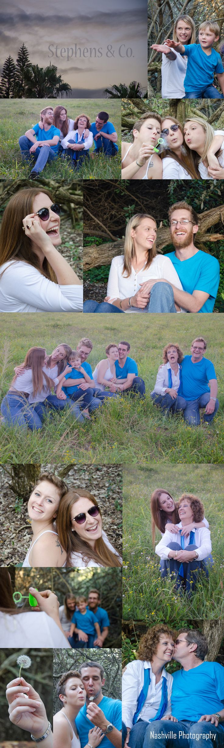 Stephens & Co.  #family #silly #photoshoot #sunglasses #vintage #vibrant #dandelion #field #southafrica #laugh