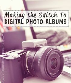 Making the switch to digital photos albums can increase the span of documenting your family's life!  I give suggestions for tools I've used for years to do the job. And being digital they can easily be turned in to pdfs for sharing and you can of course print them if you want a hard copy version! Read on for ideas!