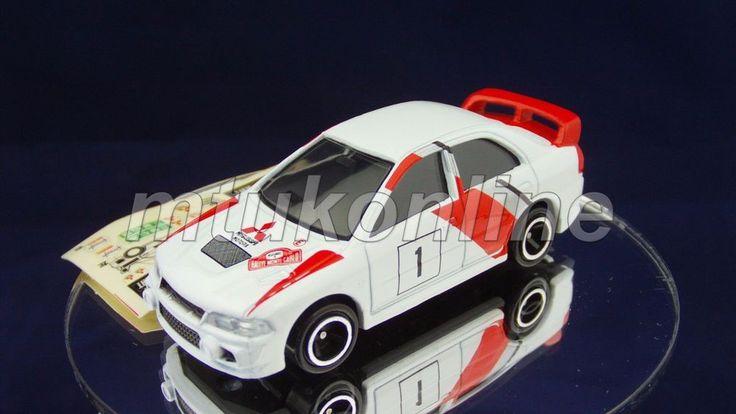 TOMICA 104C MITSUBISHI LANCER EVO IV WRC | 1/59 | 104C-2 | 2000 CHINA #JDM