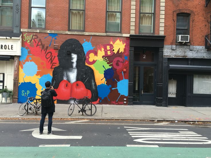 "William Cokeley 2015, NYC ""Joey Ramone"""