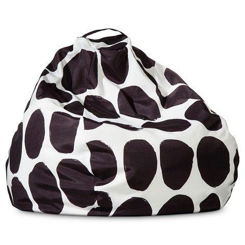 Marimekko for Target Bean Bag - Koppelo Print - Black