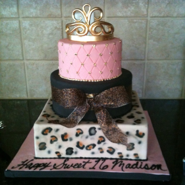 62 Best 16th Birthday Cakes Images On Pinterest