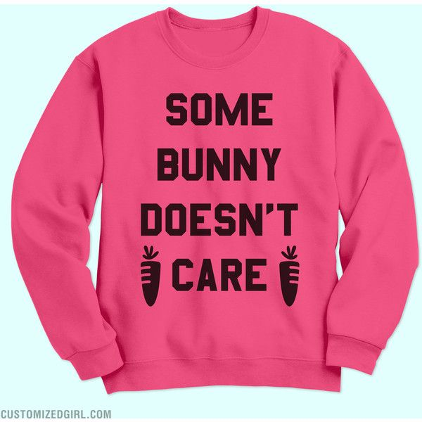 Easter Puns Funny Sweatshirt ($25) ❤ liked on Polyvore featuring tops, hoodies, sweatshirts, pink crewneck sweatshirt, holiday tops, crew-neck sweatshirts, special occasion tops and holiday sweatshirts