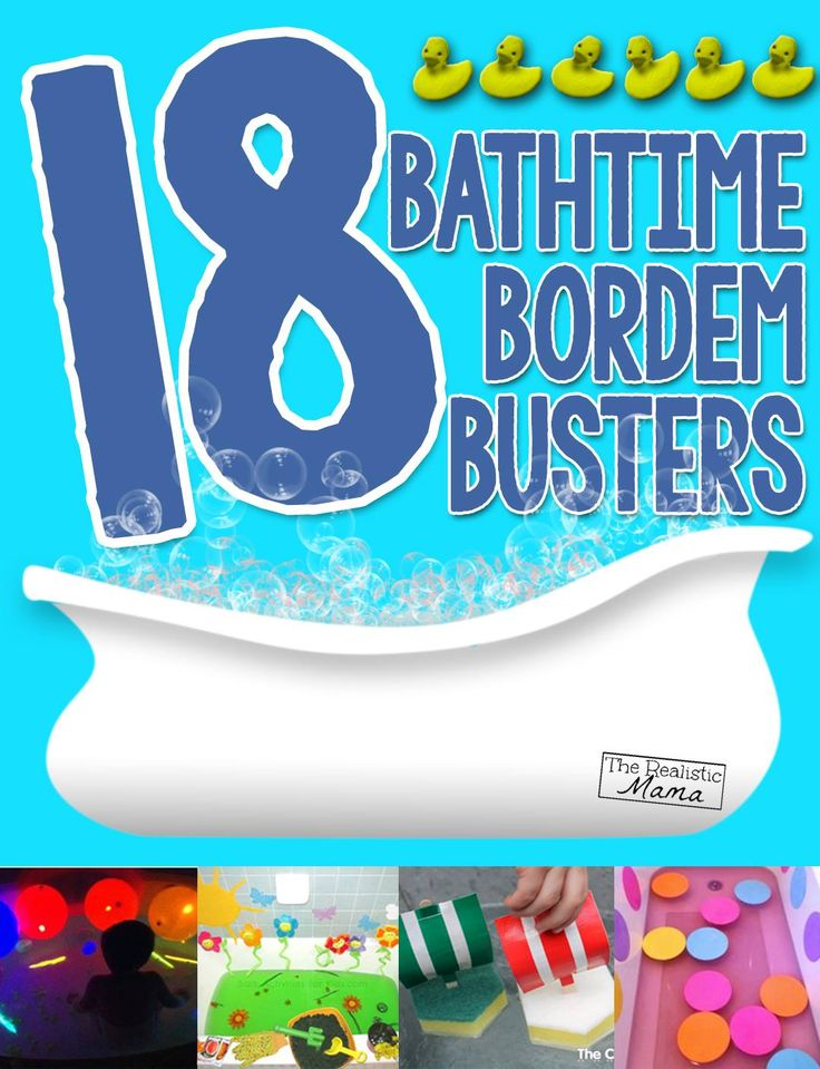 18 Bath Activities that the Kids will LOVE - perfect when we get cabin fever this winter!