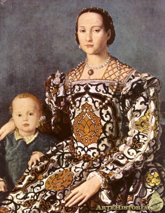 Leonor de Toledo (Salamanca, 1522 - Pisa, 17 de diciembre de 1562) Era una mujer noble española que era duquesa de Florencia a partir de 1539.  Se le atribuye ser la primera dama. Ella sirvió como regente de Florencia durante la ausencia de su cónyuge.Murió en Pisa, a donde se había trasladado en busca del ambiente costero, tratando así de aliviar la enfermedad pulmonar que sufría, y que finalmente acabó con su vida.