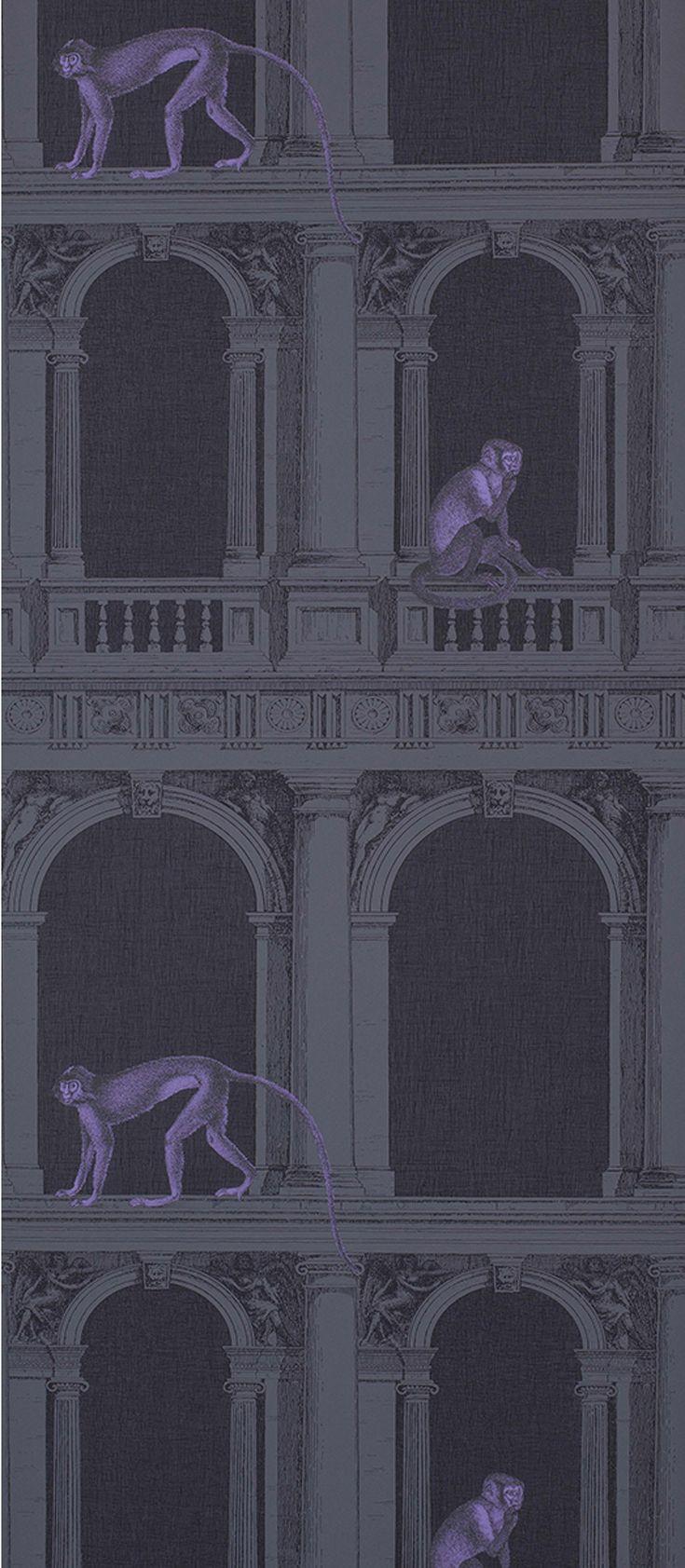 Best TAPETAI Images On Pinterest Fornasetti Wallpaper Cole - Piero fornasetti wallpaper designs
