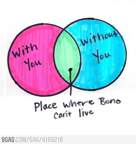 Place where Bono can't live