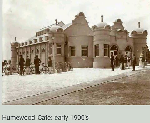 Humewood Cafe early 1900s