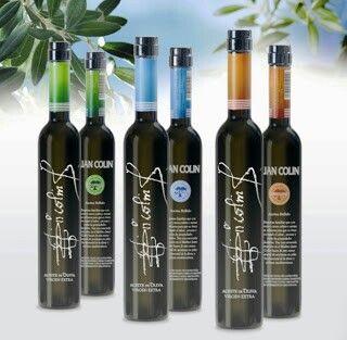 Aceite de Oliva Virgen Extra Juan Colín Modelo Naturaleza. Variedades Picual, Arbequina y Coupage. #AOVe #azeite #aceite #oliveoil www.bodegasmezquita.com