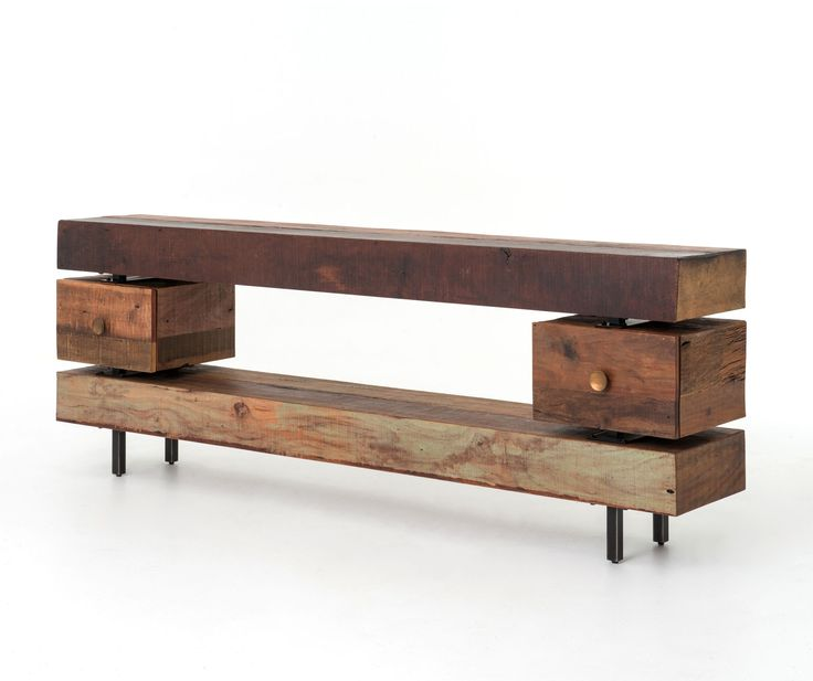 Unique Sofa Tables: Rustic Console Tables, Industrial