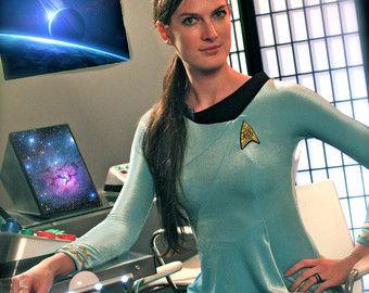 Star Trek Original Series Skant Dress Science and Engineering