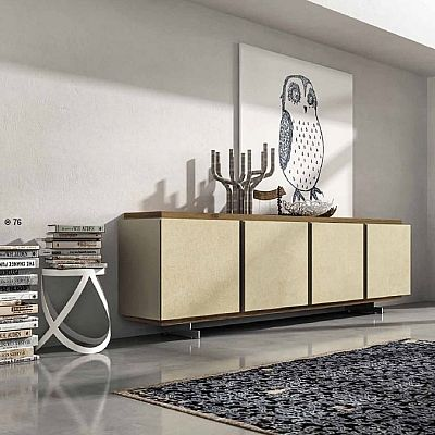 Elegant, ultramodern 'Gobi' Sideboard. Minimalist, contemporary, sand colour. All styles. My Italian Living.