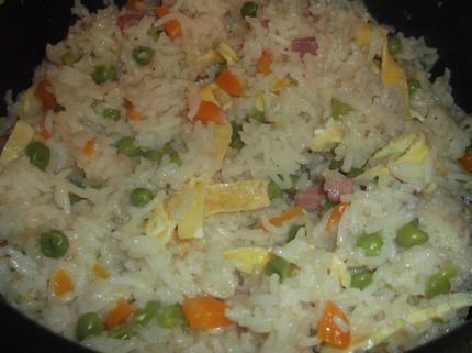 riz cantonnais au rice cooker
