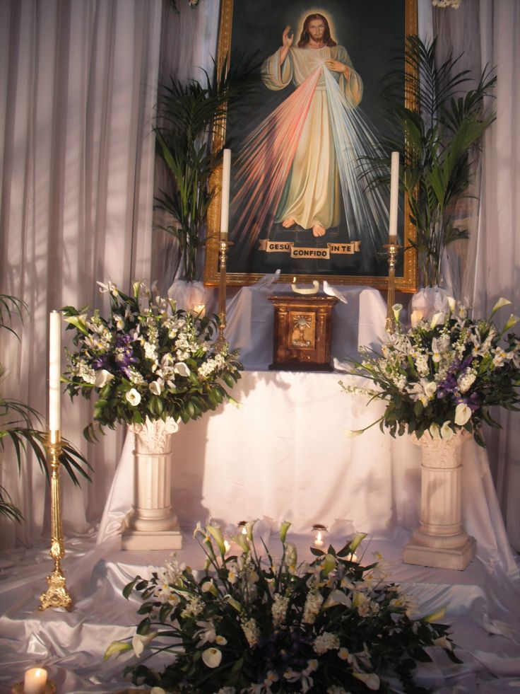 Altar of Repose in Carmine church, Good Friday 2011