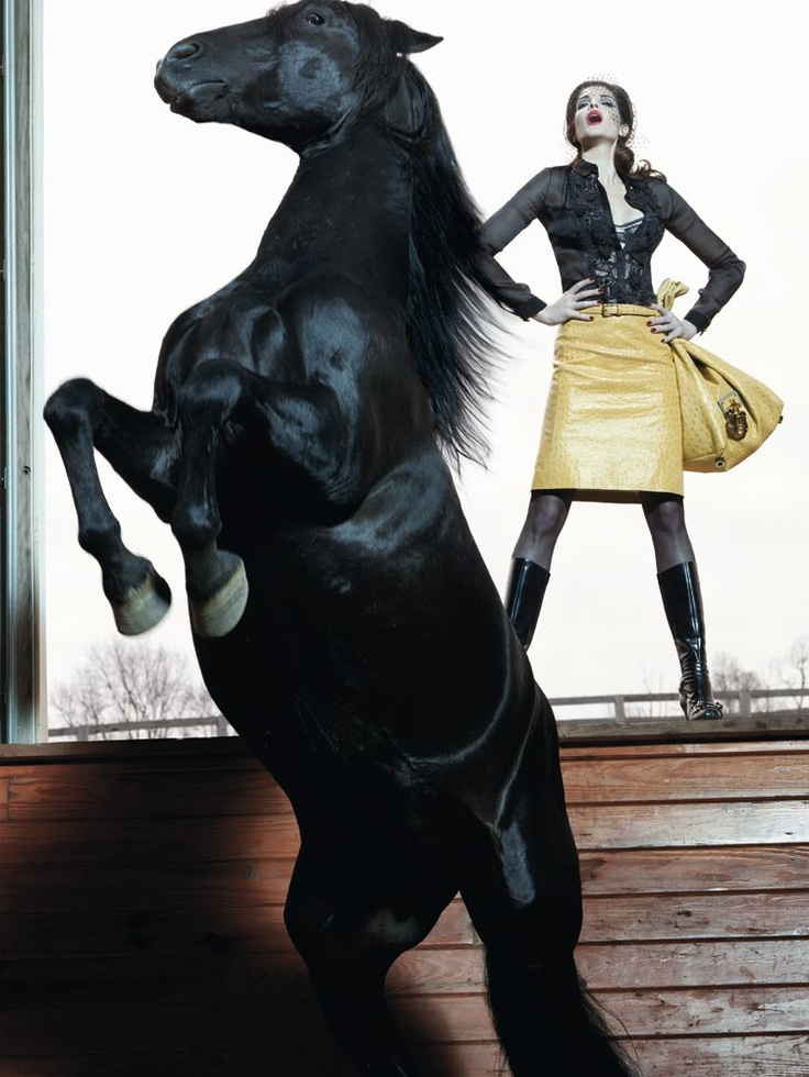 Loewe FW 08 by Steven Klein and Stephanie Seymour. St by Katie Grand?