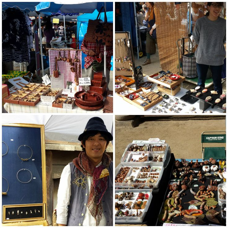 Japan, Kyoto 2015. Toji Markets at the Buddhist Temple. These are photos of the a few of the vendors at the Toji Markets. Of course I helped the Japanese economy while at the markets