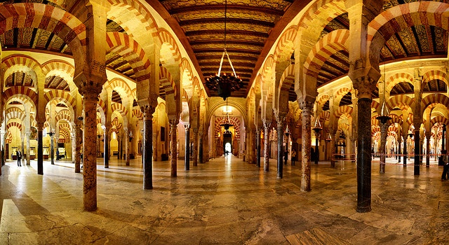 The Mosque/Cathedral in Cordoba. One day I'll see this in real life.