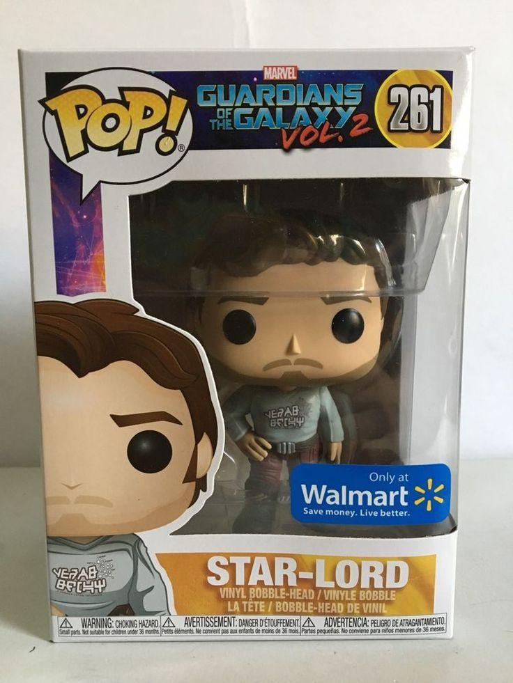 Funko POP! MARVEL Guardians Of The Galaxy Vol. 2 STAR LORD 261 Walmart Exclusive  | eBay