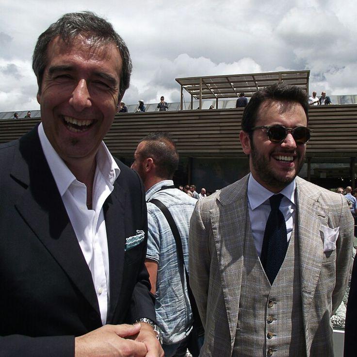 Pitti Uomo with Fabio Attanasio