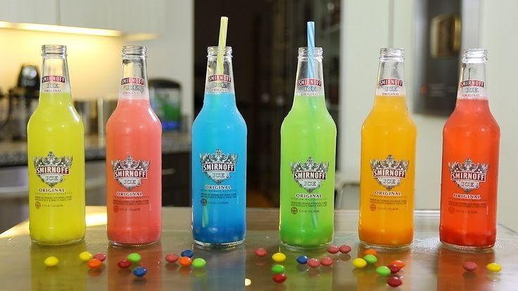Smirnoff Ice Skittle Bombs