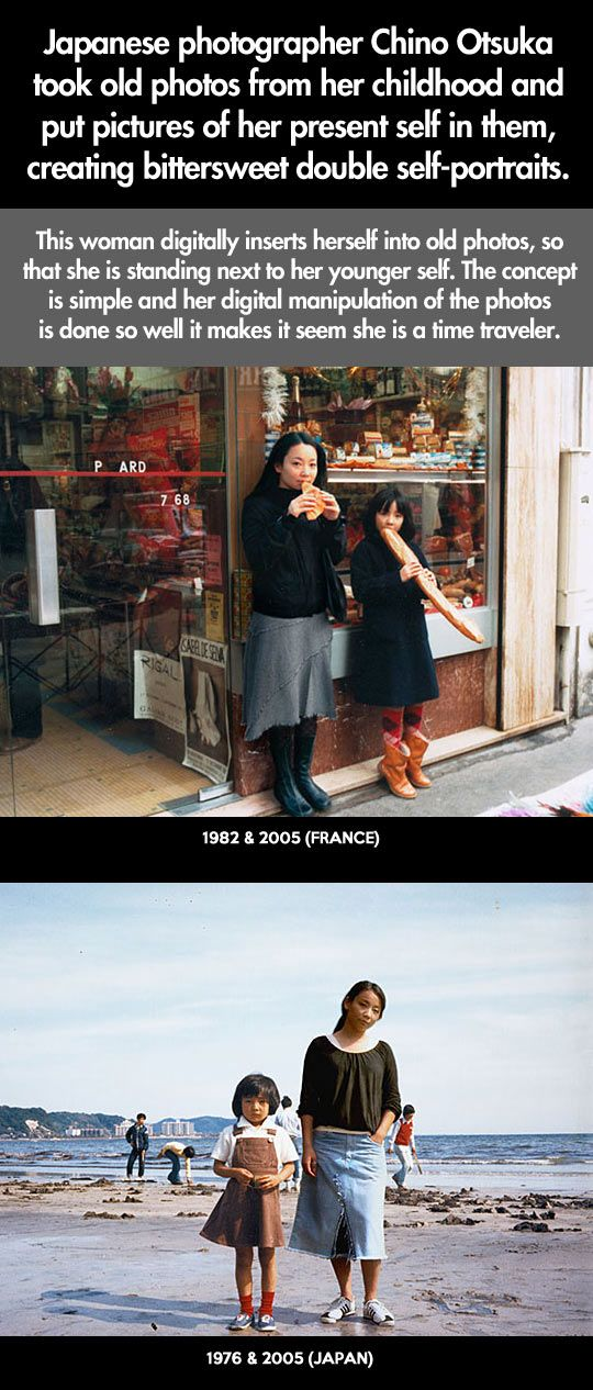 You would have no idea what's so incredible about these photos if you just looked once…