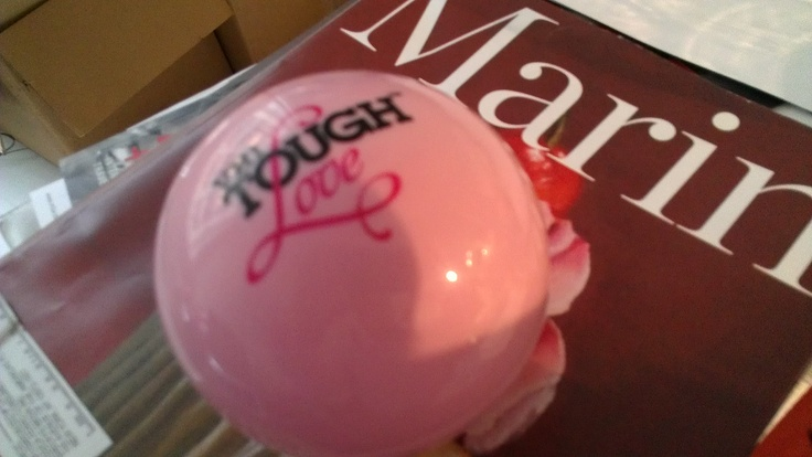 Representative of the cross-section of my work: magic date ball from VH1 Tough Love + latest issue of Marin Magazine