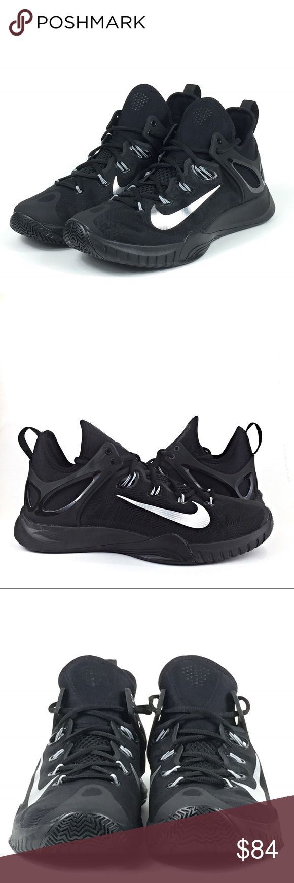 Nike Zoom HyperRev 2015 Basketball Sneaker NWOB Men's Nike Zoom HyperRev  Basketball Sneakers, Black/Metallic Silver, Men's US 9.5, Style# 705370-001.