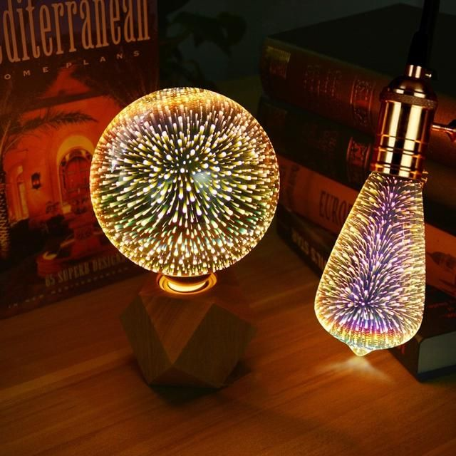3d Led Edison Light Bulb Best Goodie Shop Edison Light Bulbs Bulb Colorful Table Lamp