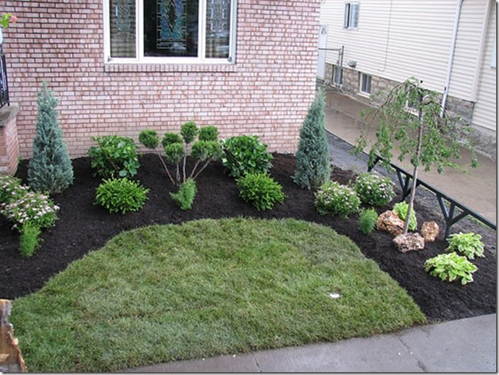 Best 25 cheap landscaping ideas ideas on pinterest for Easy garden design ideas