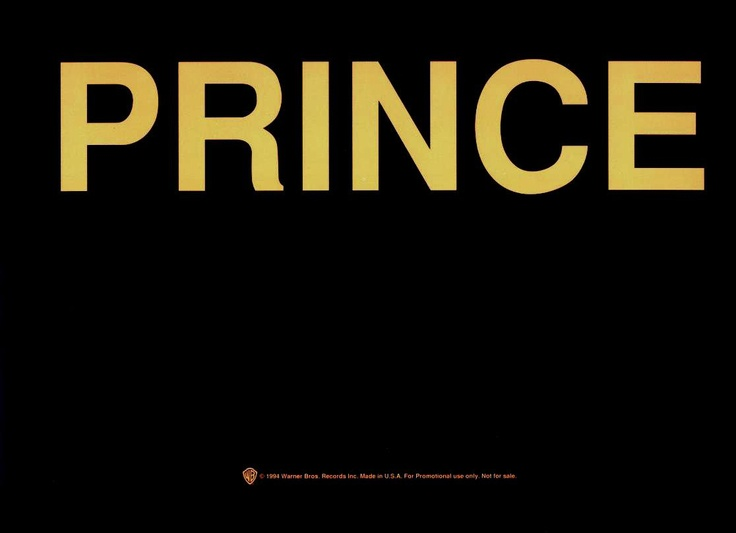 Prince / Black Album • 1987
