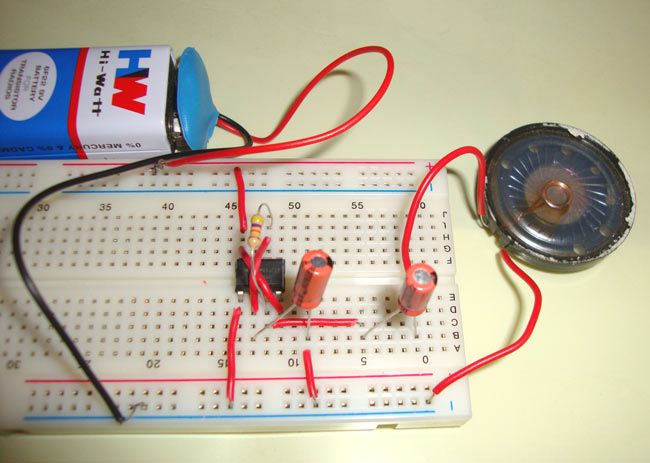 15e05aa4838a9da1ac0d58d5ba5235e6 electronic circuit kinetic art ticking bomb sound circuit using ic 555 555 timer circuits  at crackthecode.co
