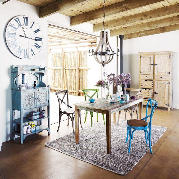 Alacena de madera reciclada pagnol ideas de decoraci n - Table maisons du monde ...