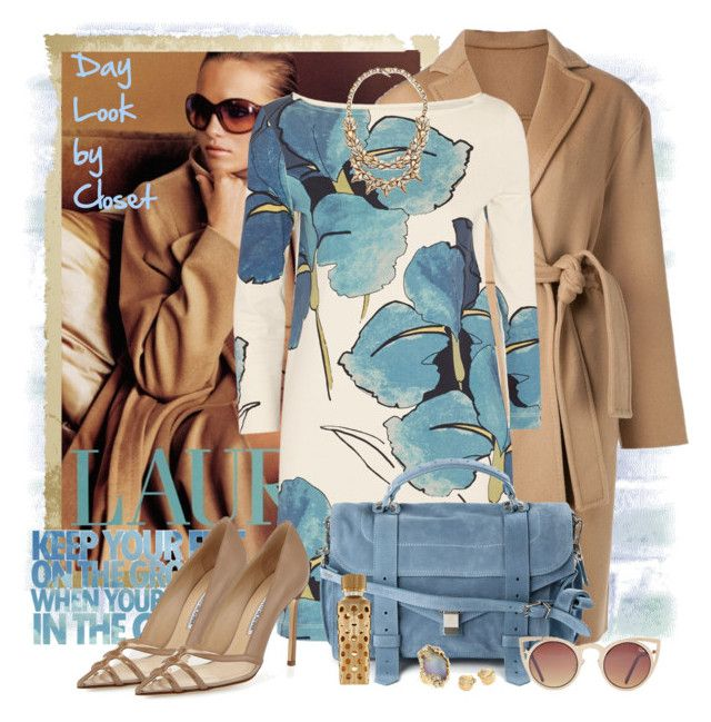 """""""New Look by Closet - Coat Camel"""" by claudia-nunes04 ❤ liked on Polyvore featuring Ralph Lauren, Jarbo, Tory Burch, Proenza Schouler, Manolo Blahnik, Marco Bicego, Alexis Bittar, Guerlain and Deepa Gurnani"""