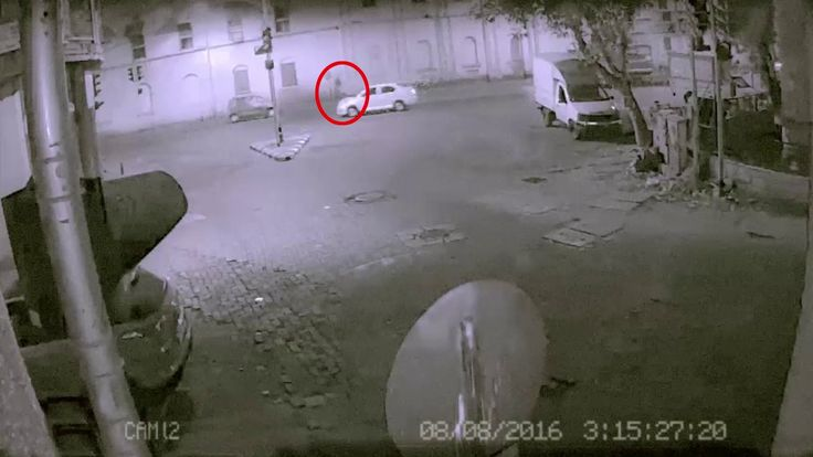 Most Scary Real Ghost Caught On CCTV Camera Paranormal Activity 2016