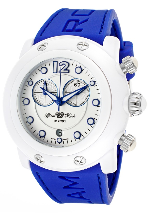 Price:$99.00 #watches Glam Rock GK1148, Add an understated look to your outfit with this unique and detailed Glam Rock watch.