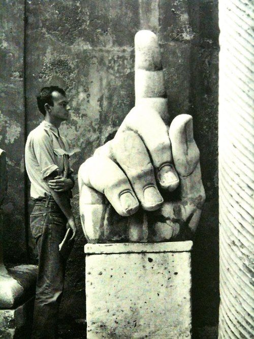 Cy Twombly by Robert Rauschenberg
