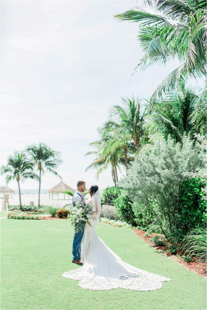 Modern Boho Fall Wedding At Jw Marriott Marco Island Wedding Fall Wedding Oceanfront Wedding