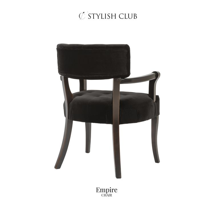The Empire chair is crafted from solid beech wood timber, offering quality that will last.