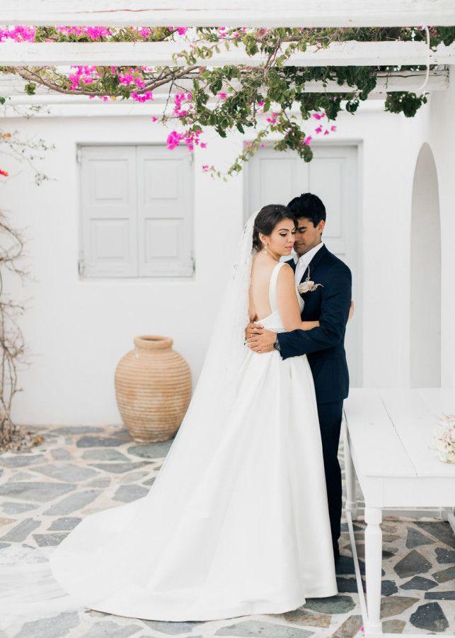 Castigliano Bride Anastasia In The Laila Wedding Gown Athens Greece