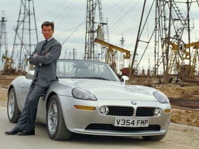 Product Placement in Kinofilmen - James Bond / BMW