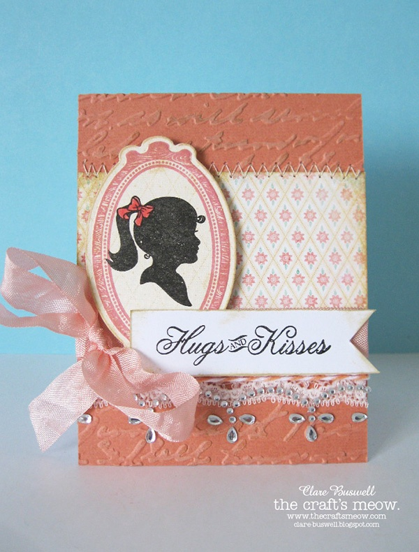 Clares creations: The Crafts Meow - Sweet Sentiments