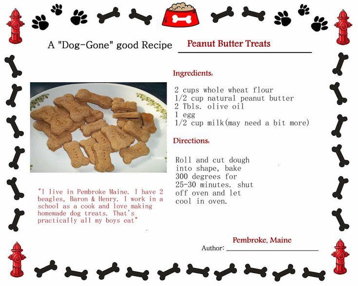 76 Best Doggie Recipies Images On Pinterest Dog Cookies
