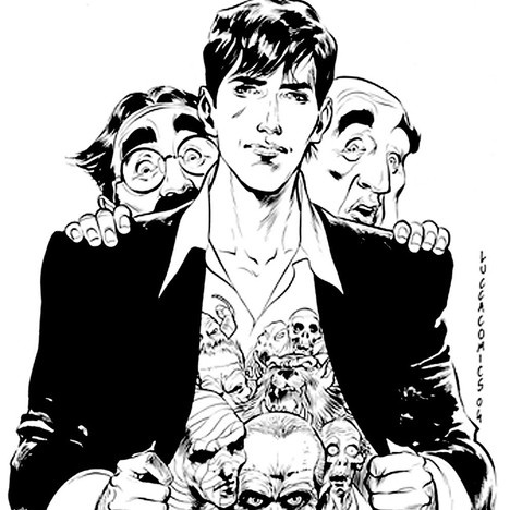 Dylan Dog...lousy jokes,and scary monsters...