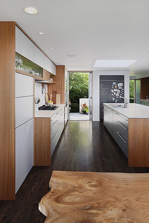 Flat front modern cabinets