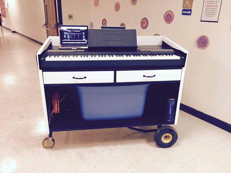 Music teachers cart