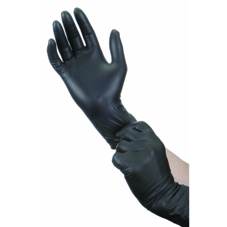 9 mil Nitrile Powder-Free Gloves 50 Pc X-Large