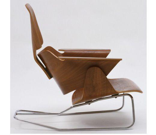 Lounge Chair Prototype   Charles U0026 Ray Eames