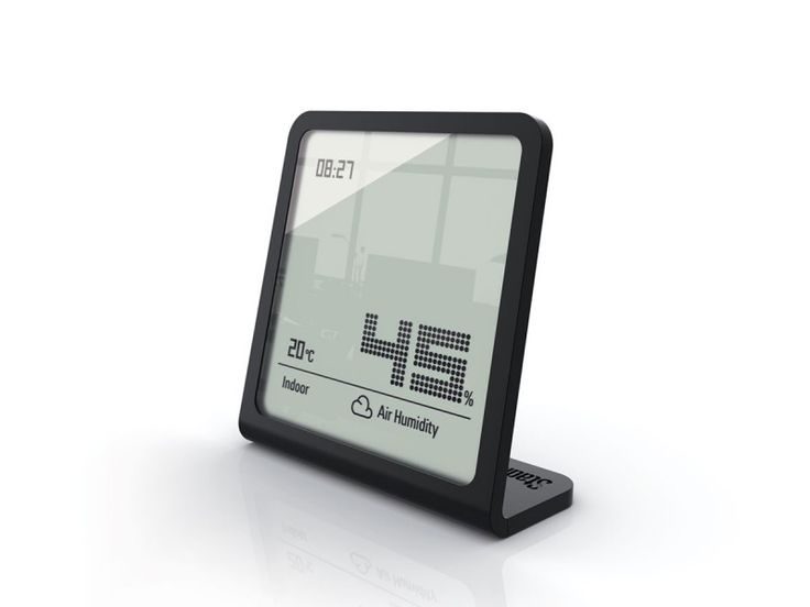 Measure humidity with the Stadler Form Selina Hygrometer - The Healthy House