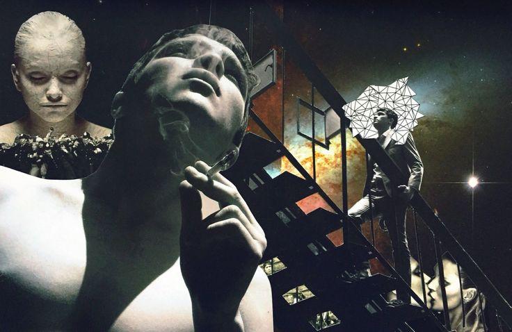 """""""Heaven"""" collage  #selfmade #concepcionallamand Concepción Allamand"""